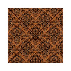 Damask1 Black Marble & Rusted Metal Acrylic Tangram Puzzle (6  X 6 )