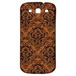 DAMASK1 BLACK MARBLE & RUSTED METAL Samsung Galaxy S3 S III Classic Hardshell Back Case Front