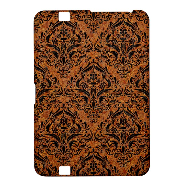 DAMASK1 BLACK MARBLE & RUSTED METAL Kindle Fire HD 8.9
