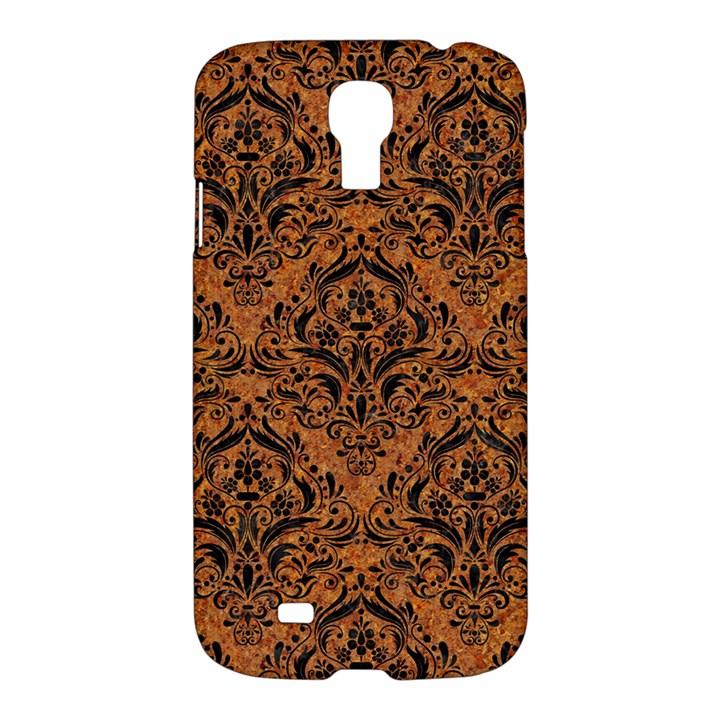 DAMASK1 BLACK MARBLE & RUSTED METAL Samsung Galaxy S4 I9500/I9505 Hardshell Case