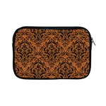 DAMASK1 BLACK MARBLE & RUSTED METAL Apple iPad Mini Zipper Cases Front