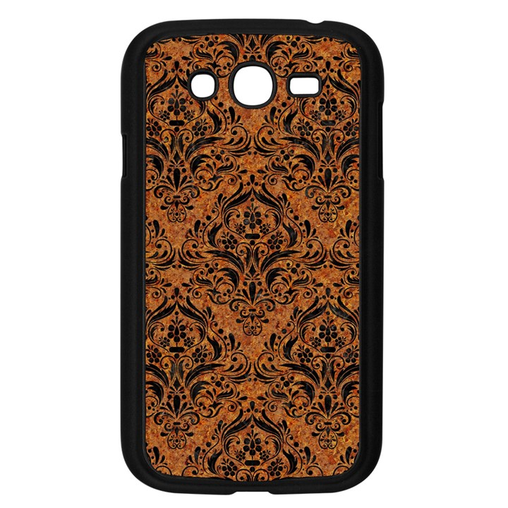 DAMASK1 BLACK MARBLE & RUSTED METAL Samsung Galaxy Grand DUOS I9082 Case (Black)