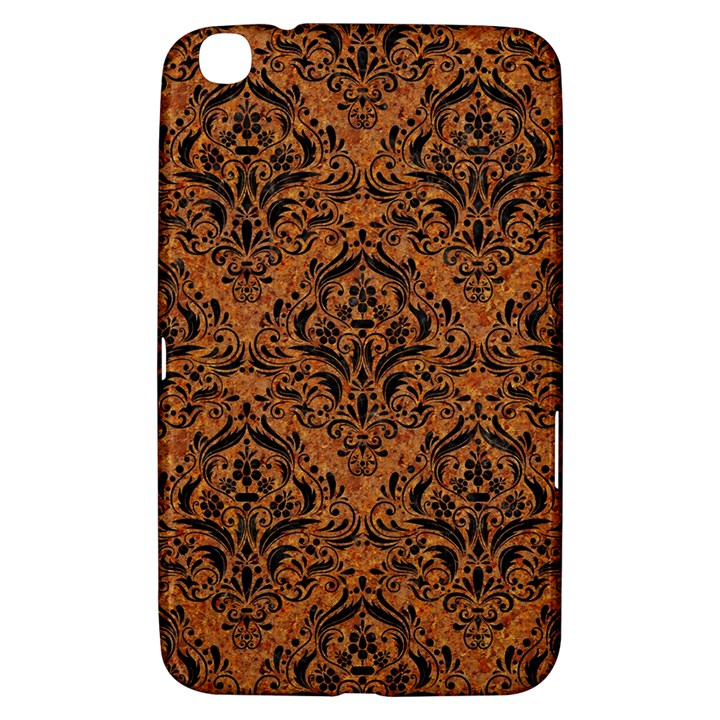 DAMASK1 BLACK MARBLE & RUSTED METAL Samsung Galaxy Tab 3 (8 ) T3100 Hardshell Case