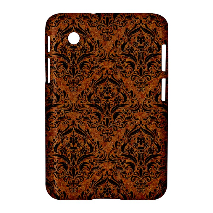DAMASK1 BLACK MARBLE & RUSTED METAL Samsung Galaxy Tab 2 (7 ) P3100 Hardshell Case