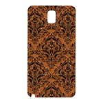 DAMASK1 BLACK MARBLE & RUSTED METAL Samsung Galaxy Note 3 N9005 Hardshell Back Case Front
