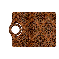 Damask1 Black Marble & Rusted Metal Kindle Fire Hd (2013) Flip 360 Case