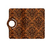 DAMASK1 BLACK MARBLE & RUSTED METAL Kindle Fire HDX 8.9  Flip 360 Case Front