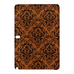 Damask1 Black Marble & Rusted Metal Samsung Galaxy Tab Pro 10 1 Hardshell Case