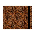 DAMASK1 BLACK MARBLE & RUSTED METAL Samsung Galaxy Tab Pro 8.4  Flip Case Front