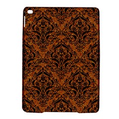 Damask1 Black Marble & Rusted Metal Ipad Air 2 Hardshell Cases