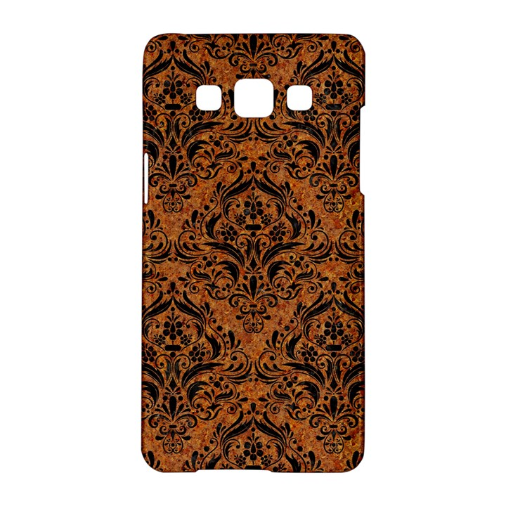 DAMASK1 BLACK MARBLE & RUSTED METAL Samsung Galaxy A5 Hardshell Case