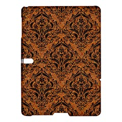 Damask1 Black Marble & Rusted Metal Samsung Galaxy Tab S (10 5 ) Hardshell Case