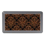 DAMASK1 BLACK MARBLE & RUSTED METAL (R) Memory Card Reader (Mini) Front