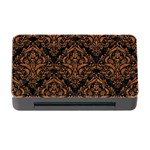 DAMASK1 BLACK MARBLE & RUSTED METAL (R) Memory Card Reader with CF Front