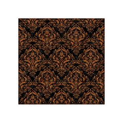 Damask1 Black Marble & Rusted Metal (r) Acrylic Tangram Puzzle (4  X 4 )