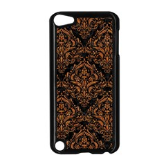 Damask1 Black Marble & Rusted Metal (r) Apple Ipod Touch 5 Case (black)