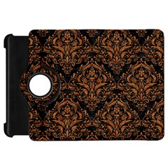 Damask1 Black Marble & Rusted Metal (r) Kindle Fire Hd 7