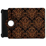 DAMASK1 BLACK MARBLE & RUSTED METAL (R) Kindle Fire HD 7  Front