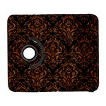DAMASK1 BLACK MARBLE & RUSTED METAL (R) Galaxy S3 (Flip/Folio) Front