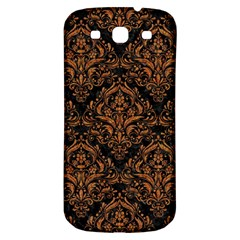 Damask1 Black Marble & Rusted Metal (r) Samsung Galaxy S3 S Iii Classic Hardshell Back Case