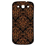 DAMASK1 BLACK MARBLE & RUSTED METAL (R) Samsung Galaxy S3 S III Classic Hardshell Back Case Front