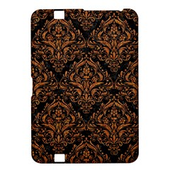 Damask1 Black Marble & Rusted Metal (r) Kindle Fire Hd 8 9