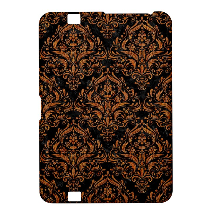 DAMASK1 BLACK MARBLE & RUSTED METAL (R) Kindle Fire HD 8.9