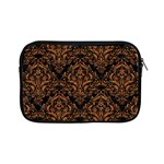 DAMASK1 BLACK MARBLE & RUSTED METAL (R) Apple iPad Mini Zipper Cases Front