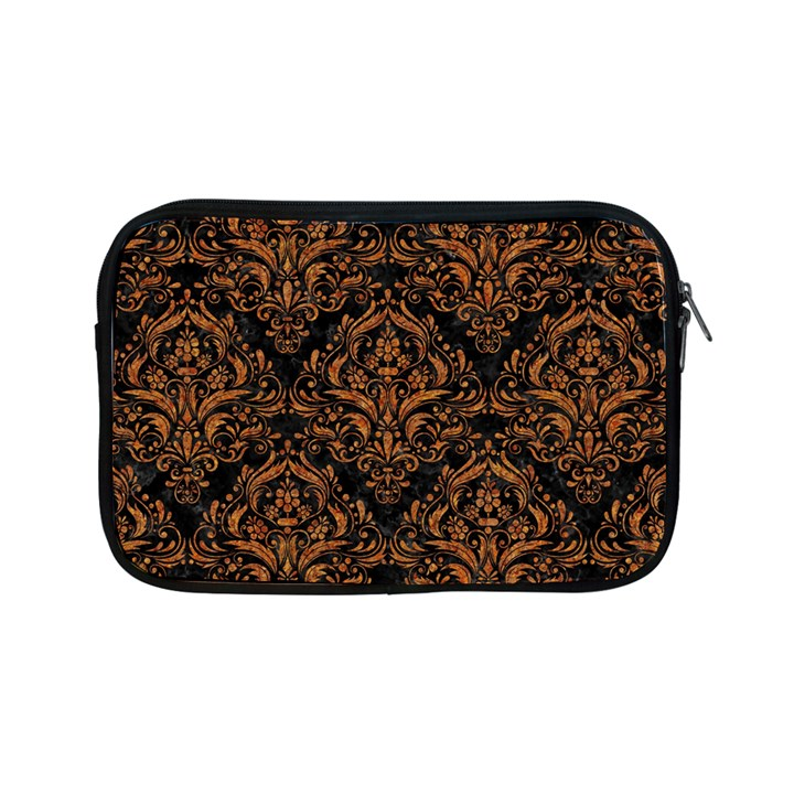DAMASK1 BLACK MARBLE & RUSTED METAL (R) Apple iPad Mini Zipper Cases