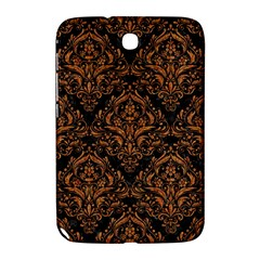 Damask1 Black Marble & Rusted Metal (r) Samsung Galaxy Note 8 0 N5100 Hardshell Case