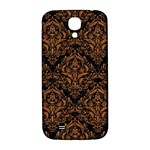 DAMASK1 BLACK MARBLE & RUSTED METAL (R) Samsung Galaxy S4 I9500/I9505  Hardshell Back Case Front