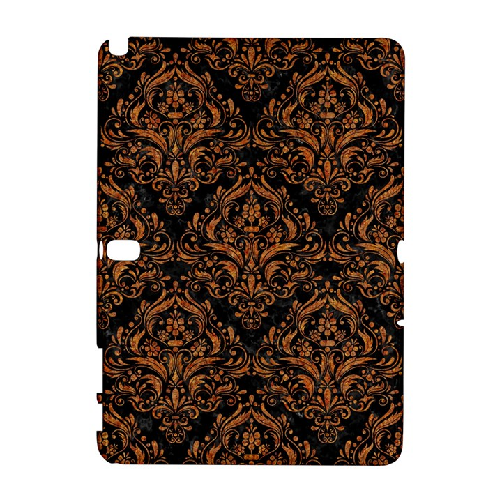 DAMASK1 BLACK MARBLE & RUSTED METAL (R) Galaxy Note 1