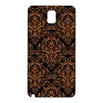 DAMASK1 BLACK MARBLE & RUSTED METAL (R) Samsung Galaxy Note 3 N9005 Hardshell Back Case Front
