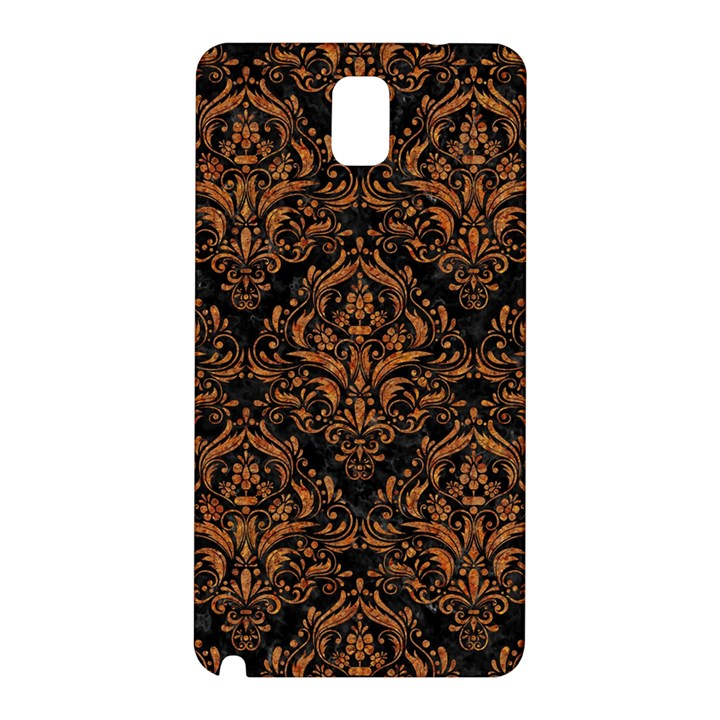 DAMASK1 BLACK MARBLE & RUSTED METAL (R) Samsung Galaxy Note 3 N9005 Hardshell Back Case