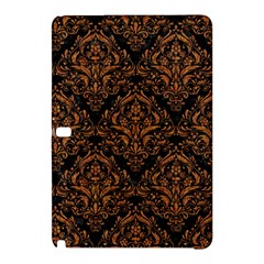 Damask1 Black Marble & Rusted Metal (r) Samsung Galaxy Tab Pro 12 2 Hardshell Case