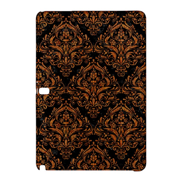 DAMASK1 BLACK MARBLE & RUSTED METAL (R) Samsung Galaxy Tab Pro 12.2 Hardshell Case