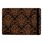 DAMASK1 BLACK MARBLE & RUSTED METAL (R) Samsung Galaxy Tab Pro 10.1  Flip Case Front