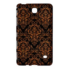 Damask1 Black Marble & Rusted Metal (r) Samsung Galaxy Tab 4 (7 ) Hardshell Case