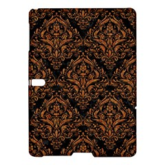 Damask1 Black Marble & Rusted Metal (r) Samsung Galaxy Tab S (10 5 ) Hardshell Case