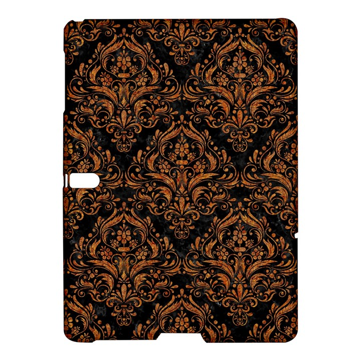 DAMASK1 BLACK MARBLE & RUSTED METAL (R) Samsung Galaxy Tab S (10.5 ) Hardshell Case