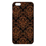 DAMASK1 BLACK MARBLE & RUSTED METAL (R) iPhone 6 Plus/6S Plus TPU Case Front