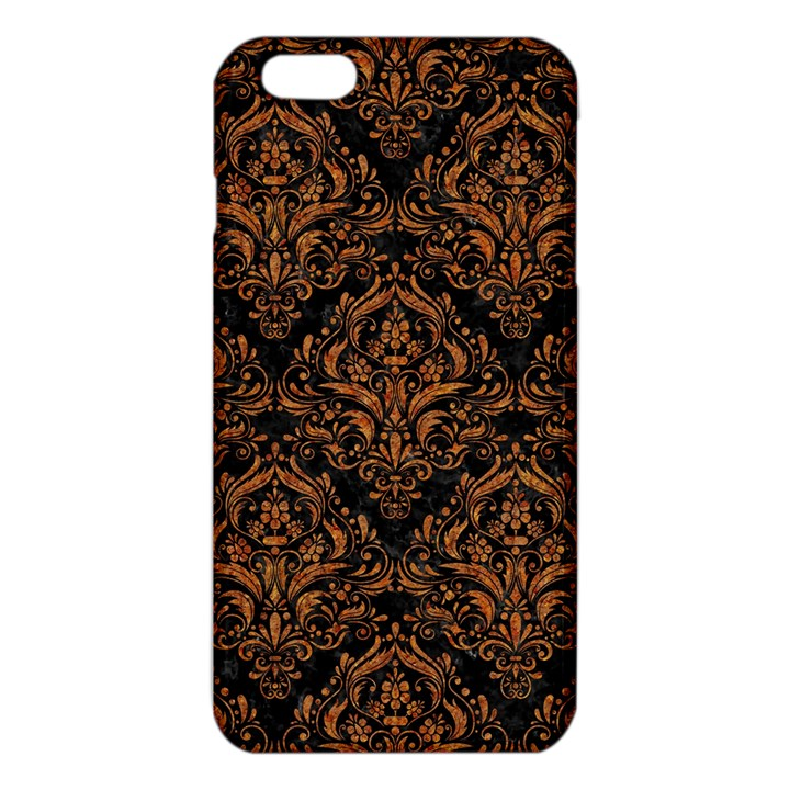 DAMASK1 BLACK MARBLE & RUSTED METAL (R) iPhone 6 Plus/6S Plus TPU Case
