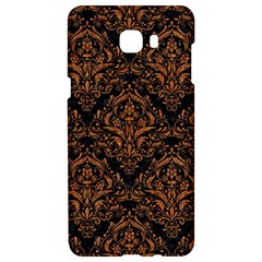 Damask1 Black Marble & Rusted Metal (r) Samsung C9 Pro Hardshell Case