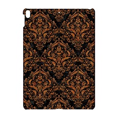 Damask1 Black Marble & Rusted Metal (r) Apple Ipad Pro 10 5   Hardshell Case