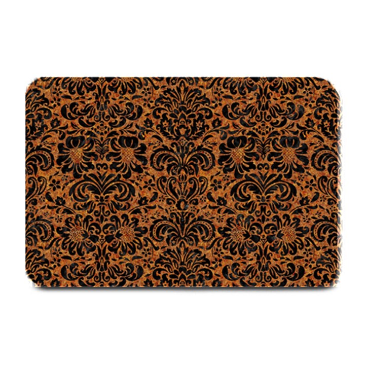DAMASK2 BLACK MARBLE & RUSTED METAL Plate Mats