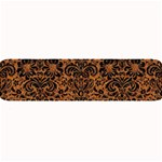 DAMASK2 BLACK MARBLE & RUSTED METAL Large Bar Mats 34 x9.03 Bar Mat - 1