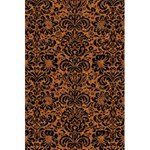 DAMASK2 BLACK MARBLE & RUSTED METAL 5.5  x 8.5  Notebooks Front Cover