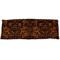 Damask2 Black Marble & Rusted Metal Body Pillow Case (dakimakura)