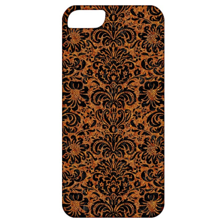 DAMASK2 BLACK MARBLE & RUSTED METAL Apple iPhone 5 Classic Hardshell Case
