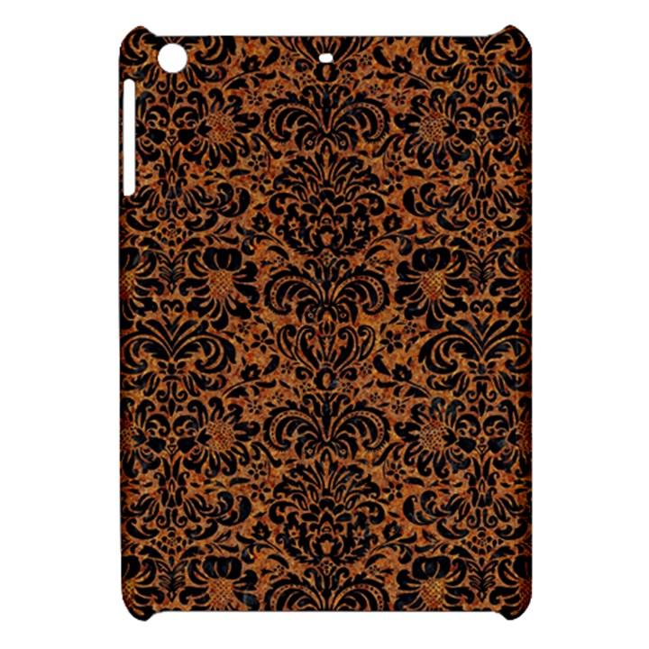 DAMASK2 BLACK MARBLE & RUSTED METAL Apple iPad Mini Hardshell Case